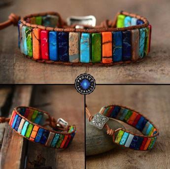 Color Burst Positivity Bracelet