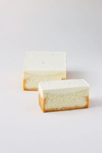 french cheesecake a light refreshing recipe to serve at Sunday lunch or your next dinner party, use the rectangular container to create this elegant slice and serve with a fresh raspberry or mixed berry compote , find a recipe on this board for your fruity accompaniment.