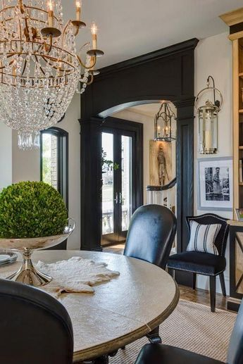 40+ MAGNIFICENCE BLACK INTERIOR DESIGN THAT ARE INSPIRING YOU