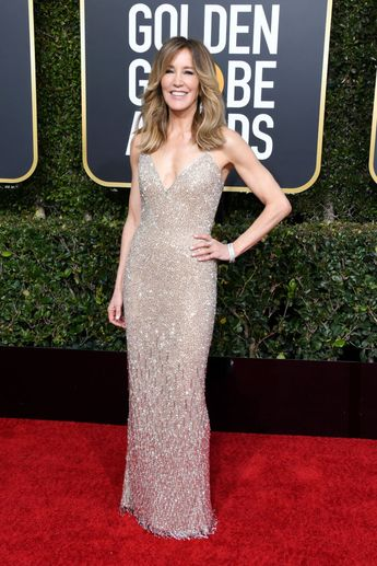 Felicity Huffman attends the 76th Annual Golden Globe Awards at The...