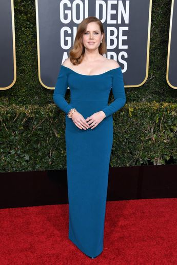Amy Adams attends the 76th Annual Golden Globe Awards at The Beverly...
