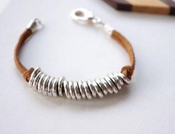 JewelryJo Gypsy Boho Hippie Bohemian Elephant Dragonfly Butterfly Fleur-de-lis Love Heart Leather Braided Rope Beads Bracelets for Women
