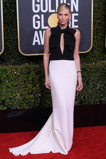 Charlize Theron Golden Globes 2019.
