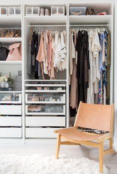 Så gör du en liten garderob lyxigare – 8 knep | ELLE Decoration