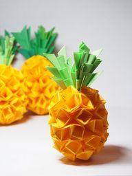 ananas pliage