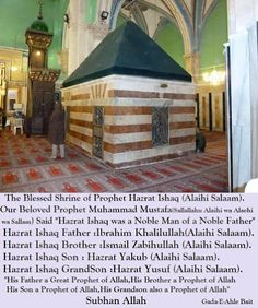 Prophet Ishaq Alaihissalam