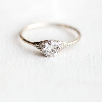 Found - Vintage Engagement Rings Rose Gold!!
