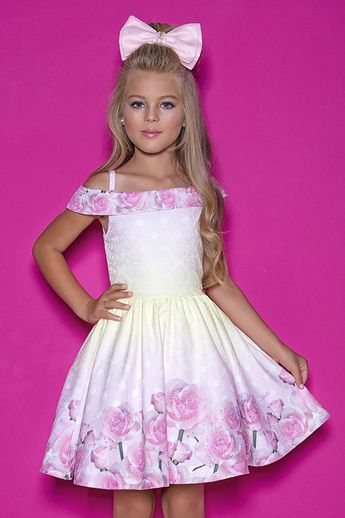 36223a28d8 Vestido Infantil Diforini Moda Infanto Juvenil 010848