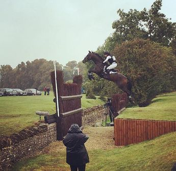 Libby Head · Clearly cottesmore leap wasn't big enough so we had to jump it bigger!!