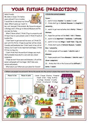English worksheets: simple worksheets, page 3