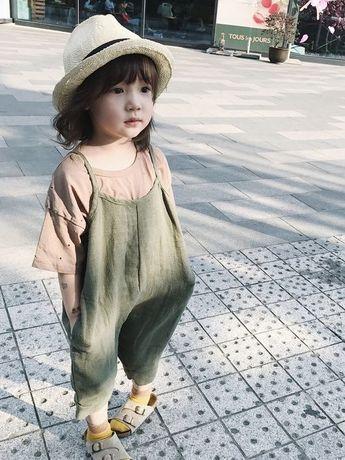 Love this mini romper kids style.