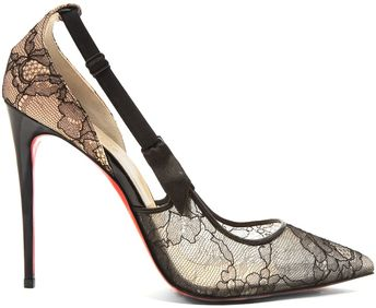 15d9629f1a3 So Full Kate  Christian Louboutin Studded Booties - HighHe