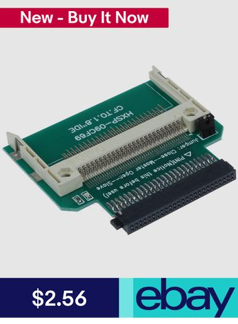 $1 62 AUD - Compact Flash Cf To 3 5 Female 40 Pin Ide Boot
