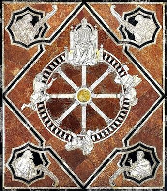 Opus sectile - Pannello dalla basilica di Giunio Basso, Rom