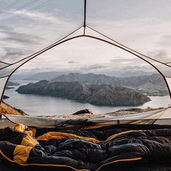 Chase the sunset to wake up above the city.  #getoutdoors #upknorth Morning… #outdoorwildernesskingscanyoncamping