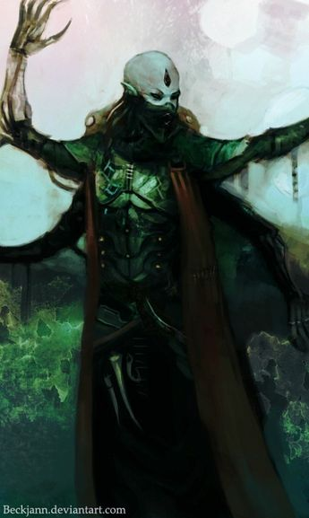 Dark Eldar: Wrack by Beckjann on @DeviantArt