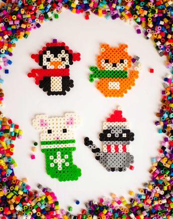 Christmas Perler Bead Patterns