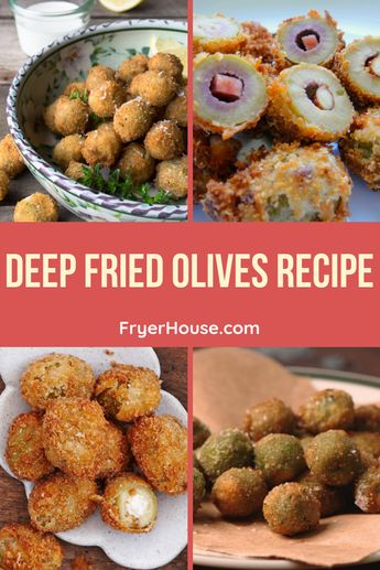 Easy Deep Fried Olives Recipe