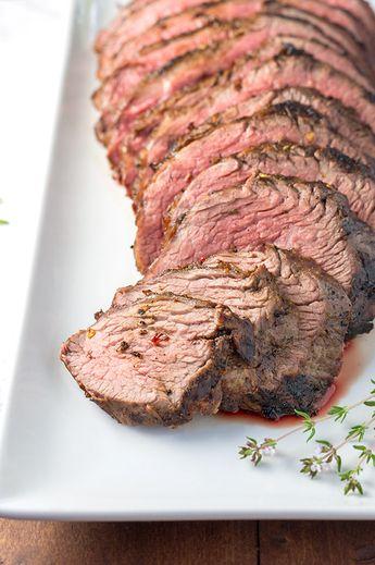 Perfect Barbecue Tri-Tip Steak