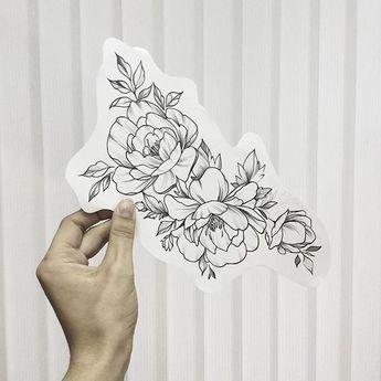 3bd7084cfec Flower tattoo  FlowerTattooDesigns