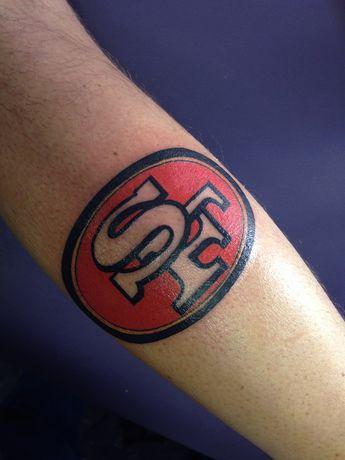 172e76ff8 #tattoo #jason #doherty #SFltattoo #sanfrancisco #footballtattoo #superhero  #49rstattoo