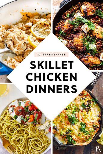 17 Stress-Free Skillet Chicken Dinners