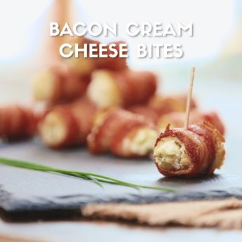 Everyone loves Bacon! These ooey,gooey Bacon Cream Cheese Bites are guaranteed to disappear at your next party!