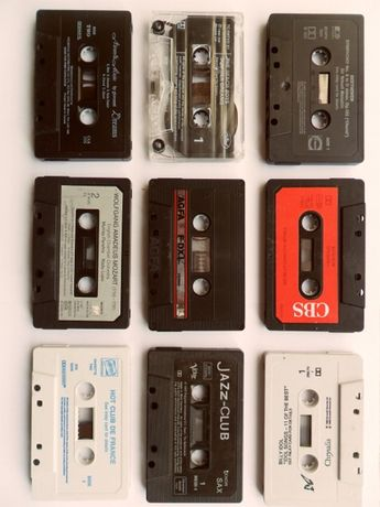 Vintage tapes.