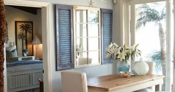 Coastal Decorating with Shutters