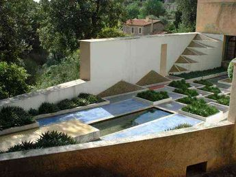 The Cubist Garden of Villa Noailles in Hyères, France by Ga