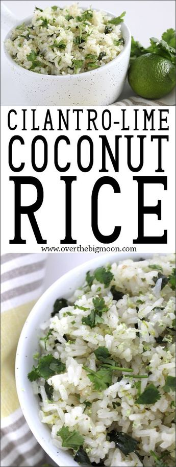 Cilantro Lime Coconut Rice