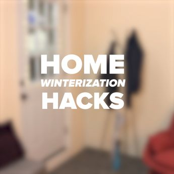 Keep the chill away with these easy winter-proofing hacks. It's as easy as signing up for GEICO, where you could save 15% or more on car insurance.