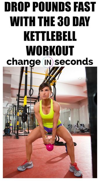 30 Day Kettlebell Swing Workout For Rapid Fat Loss (Download PDF)