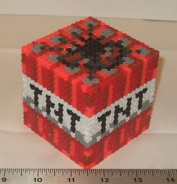 Minecraft 3d tnt box