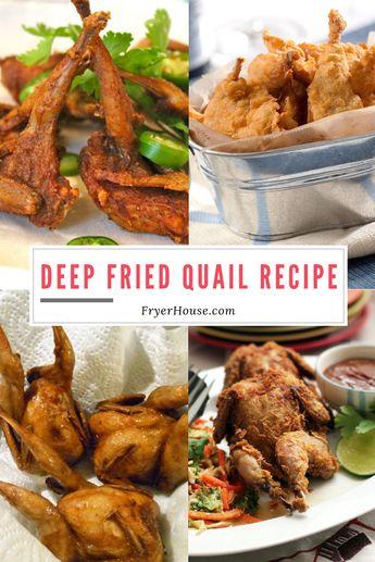 Easy Deep Fried Quail Recipe