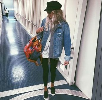 15 Jean Jacket With Leggings Outfits That We Can Not Get Enough Of