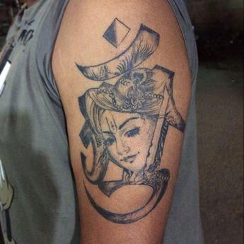 536a55e51b07f Shivaji Maharaj Tattoo by Allan Gois at Aliens Tattoo Indi