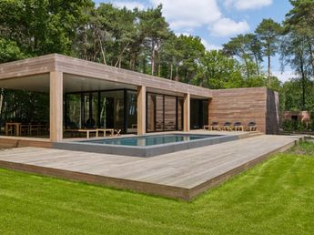 Contemporary pool house garden room modern poolhouse c
