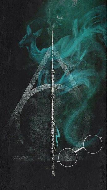 Poster Harry Potter Las Reliquias De La Muerte Grafico P