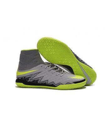 reputable site f84ed 33f5a Nike HypervenomX Proximo IC SÁLOVÁ high tops kopačky šedá zelená černá