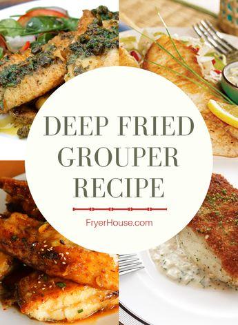 Easy Deep Fried Grouper Recipe