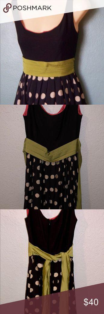 263545d3af25c Anthropologie Corey Lynn Calter Dress Fun & Flirty Slice of lime Dress  Anthropologie by Corey Lynn