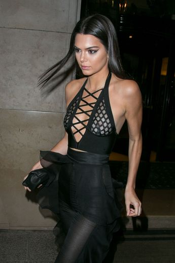 1f8902b7a2890 Kendall Jenner's Nipples, Bare Butt Had a Big Night Out on the Town