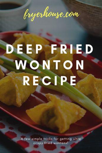 Easy Deep Fried Wonton Recipe