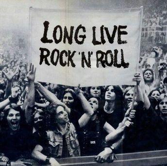 Long Live Rock 'n Roll! #Rock'nRoll #PeopleRocks #GreatMusic