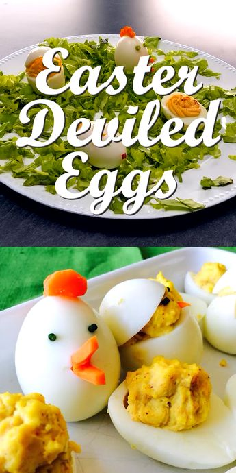 Super easy way to decorate your Easter eggs like chicks, bunnies and roosters!