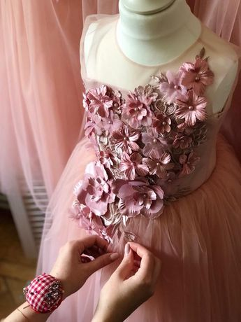 c0bc2e731 Blush Pink Flower Girl Dress Blush Flower Girl Dress Birthday Bridesmaid  Holiday Blush Pink Tutu Dress
