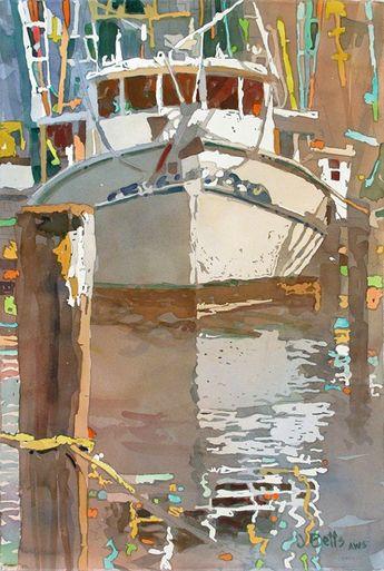 Waercolor by Judi Betts USA