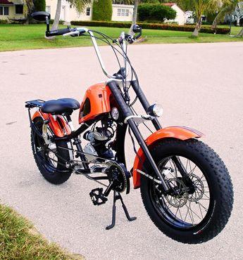 Schwinn Stingray Fatboy Chopper Information? - Motorized Bi