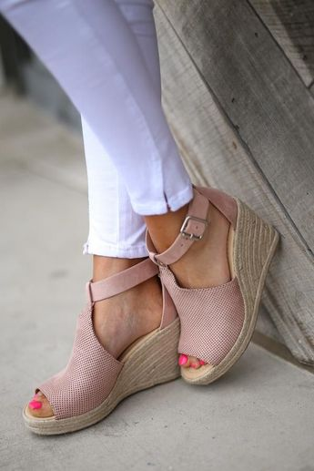 491ec640ea920 The Center Of Attention Wedges, Nude - The Center Of Attent